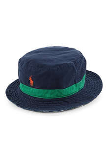 RALPH LAUREN Reversible beachside bucket hat
