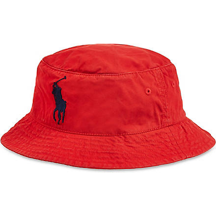 RALPH LAUREN Beachside bucket hat (Rl 2000 red/fre