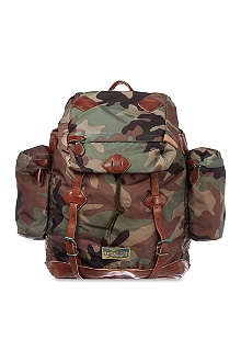 RALPH LAUREN Yosemite camouflage backpack