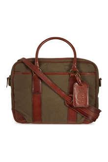 RALPH LAUREN Soft briefcase