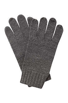 RALPH LAUREN Merino wool gloves
