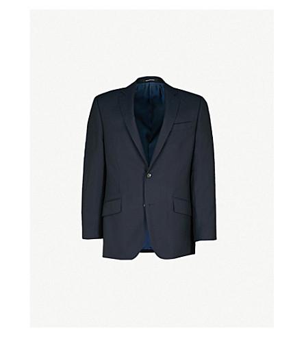 RICHARD JAMES Travel slim-fit wool blazer (Navy