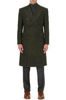 RICHARD JAMES Double-breasted wool coat