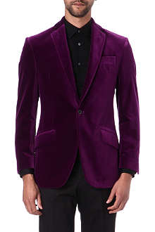 RICHARD JAMES Velvet blazer