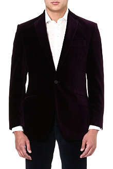 RICHARD JAMES Single-breasted velvet jacket