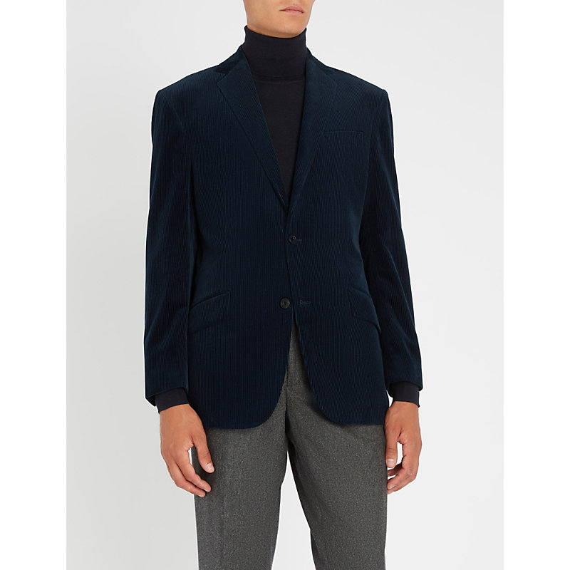 RICHARD JAMES Regular-fit cotton corduroy jacket