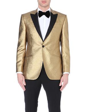 RICHARD JAMES Exclusive gold Christmas jacket
