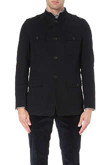 RICHARD JAMES Moleskin field jacket