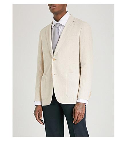 RICHARD JAMES Spirit towelling jacket (Natural