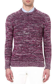 RICHARD JAMES Space-dye jumper