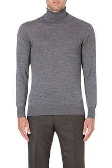RICHARD JAMES Roll-neck cashmere jumper