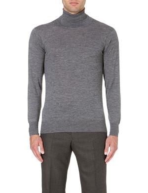 RICHARD JAMES Roll-neck cashmere jumper