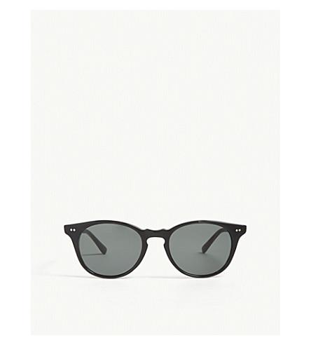 RICHARD JAMES Monty round-frame sunglasses (Black