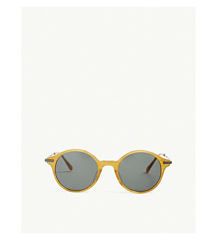 RICHARD JAMES Ray round-frame sunglasses (Amber