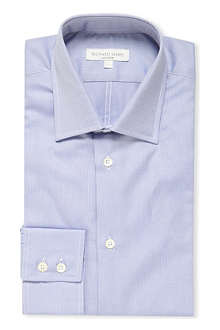 RICHARD JAMES Oxford single cuff slim fit shirt