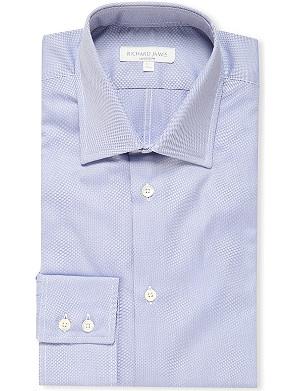 RICHARD JAMES Oxford single cuff slim fit shirt