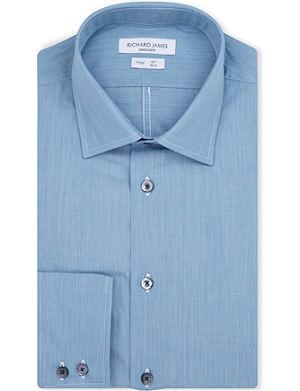 RICHARD JAMES Spread-collar single-cuff shirt