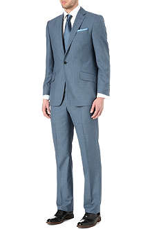 RICHARD JAMES Single-button wool suit