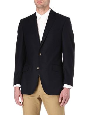 RICHARD JAMES Hopsack-wool blazer