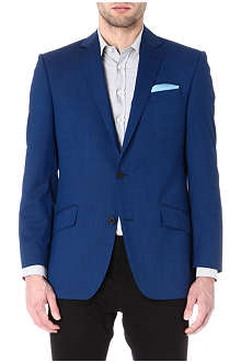 RICHARD JAMES Pindot single-breasted blazer