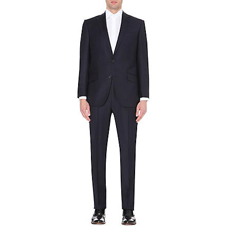 RICHARD JAMES Wool-twill suit (Navy