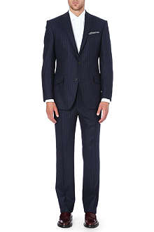 RICHARD JAMES Pinstripe wool suit