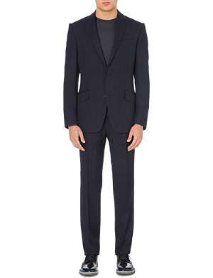 RICHARD JAMES Dobby-stripe wool suit