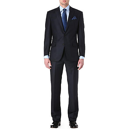RICHARD JAMES Sharkskin Hyde suit (Navy