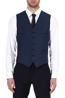RICHARD JAMES Wool and mohair-blend waistcoat