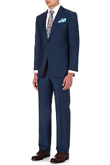 RICHARD JAMES Sharkskin-wool suit