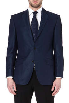 RICHARD JAMES Twill single-breasted suit jacket
