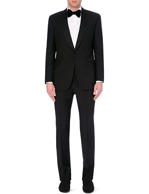 RICHARD JAMES Wool and mohair-blend suit