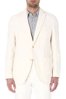 RICHARD JAMES Single-breasted linen blazer