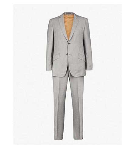 RICHARD JAMES 精裁版型羊毛和羊绒混纺西服 (光 + 灰