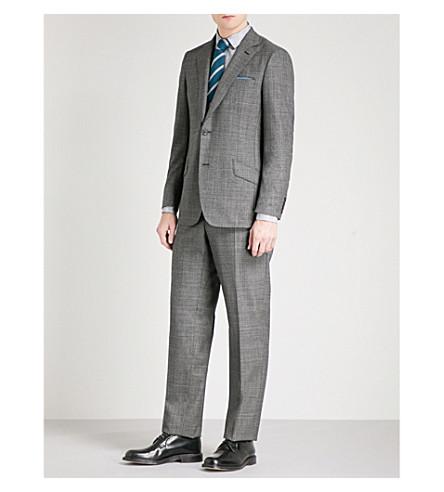 RICHARD JAMES Single-breasted wool suit (Black
