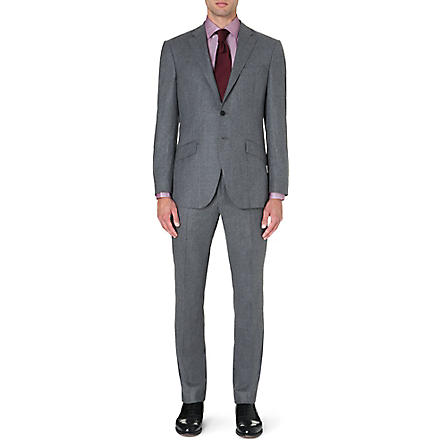 RICHARD JAMES Wool suit (Lt grey