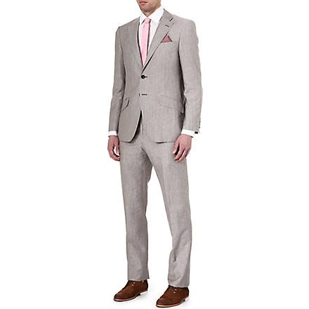 RICHARD JAMES Wool suit (Taupe