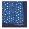 RICHARD JAMES Multiple spot cotton pocket square