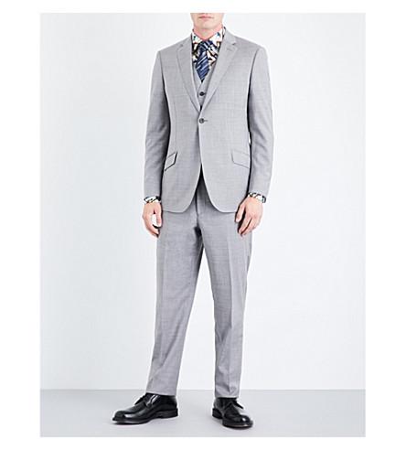 RICHARD JAMES Regular-fit wool suit (Light+grey