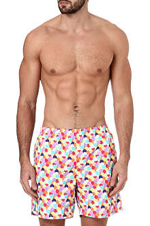 RICHARD JAMES Multi-spot swim shorts