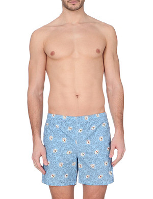 RICHARD JAMES Printed swim shorts