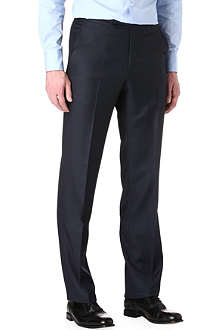 RICHARD JAMES Sharkskin wool trousers