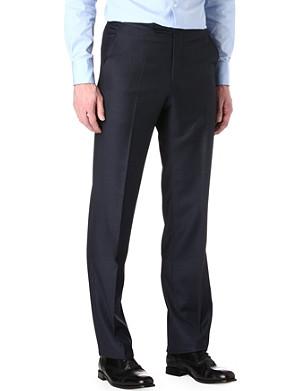 RICHARD JAMES Sharkskin wool trousers