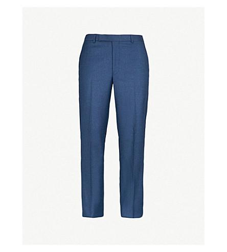 RICHARD JAMES Wool trousers (Ocean