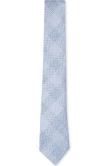 RICHARD JAMES Prince of Wales silk tie