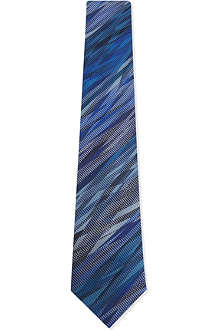 RICHARD JAMES Brocade silk tie