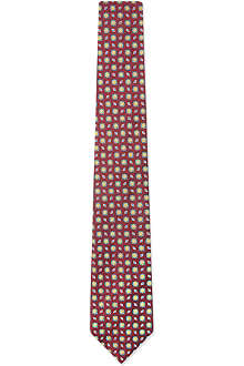 RICHARD JAMES Authentic brocade floral tie