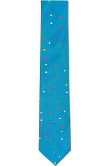 RICHARD JAMES Rainbow spots tie