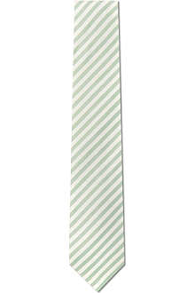 RICHARD JAMES Pastel stripe silk tie