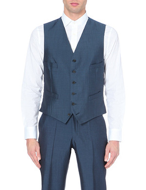RICHARD JAMES Wool waistcoat